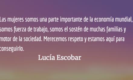 Cuéntalo. Lucía Escobar.