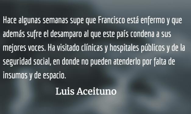Paco, un poeta. Luis Aceituno.