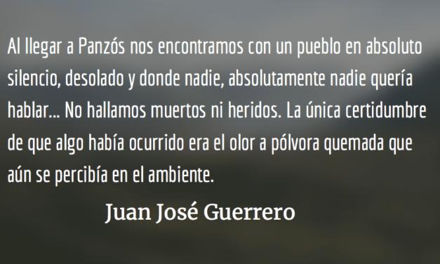 Panzós: Espinas en carne propia. Juan José Guerrero.