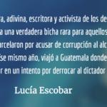 La imprudencia de Prudencia. Lucía Escobar.