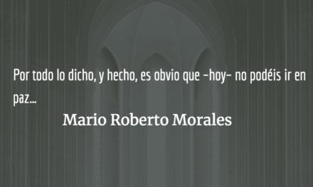 El absurdo religioso. Mario Roberto Morales.