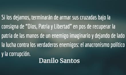 Anacronismo político y corrupción. Danilo Santos.