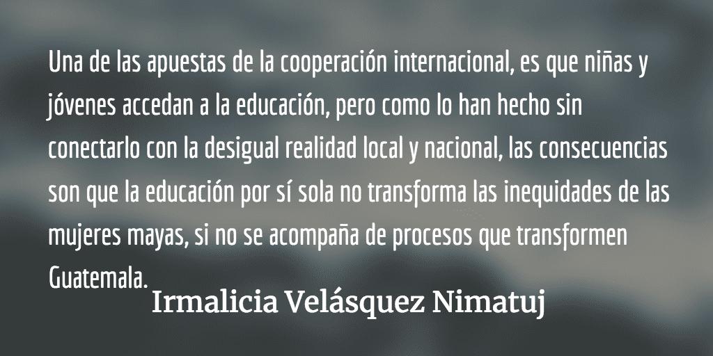 Frente al asesinato de Claudia Gómez: ¿dónde está el Estado guatemalteco? Irmalicia Velásquez Nimatuj