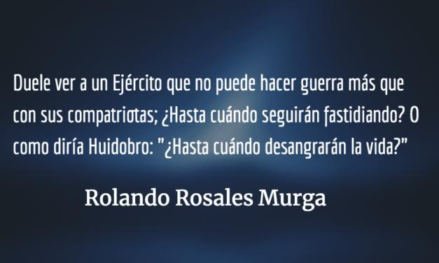 La Guatemala de la eterna guerra. Rolando Enrique Rosales Murga.