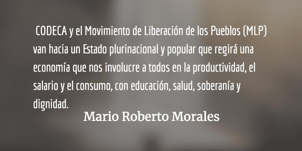 El futuro ya llegó. Mario Roberto Morales.