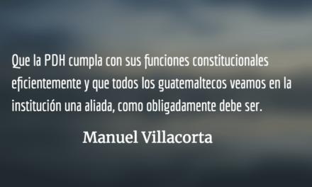 ¿Poseen derechos humanos los delincuentes? Manuel Villacorta