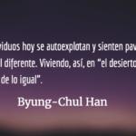 """""""Ahora uno se explota a sí mismo y cree que está realizándose"""": Byung-Chul Han"""