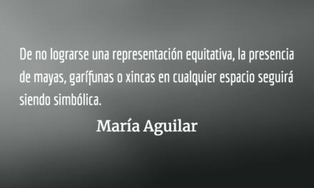La nueva política, la joven política. María Aguilar.