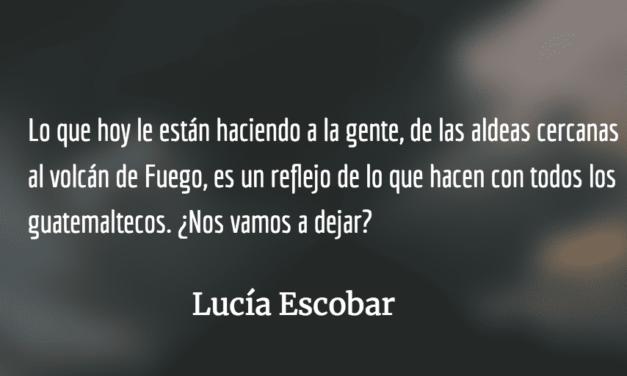 Después de la ceniza. Lucía Escobar.