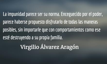 Sin piel para más manchas. Virgilio Álvarez Aragón.