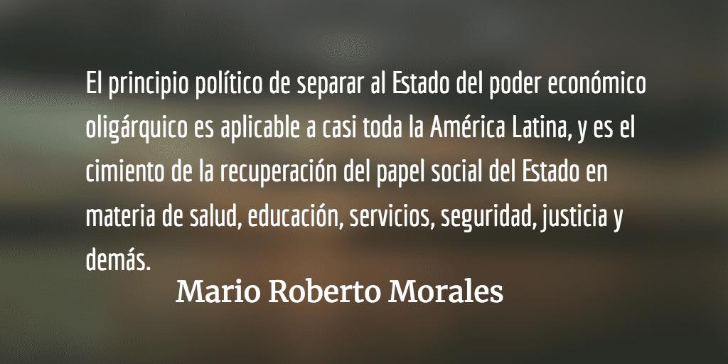 Lo de México y lo de Guatemala. Mario Roberto Morales.