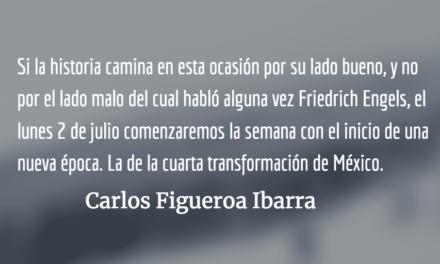 Morena en México, en vísperas de la victoria. Carlos Figueroa barra.