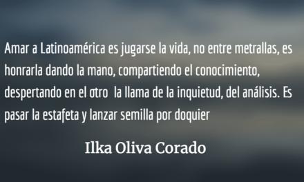 La revolución es cultural y florecerá en los páramos y arrabales. Ilka Oliva Corado.