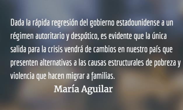 Los migrantes son la fuerza que sostiene a Guatemala. María Aguilar.