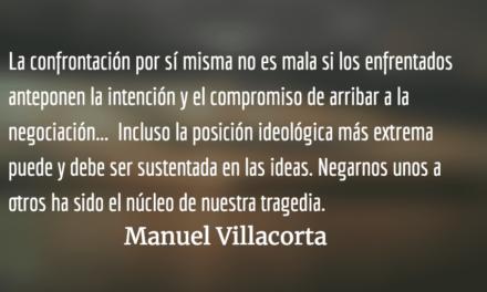 La histórica tragedia de negarnos unos a otros. Manuel Villacorta.