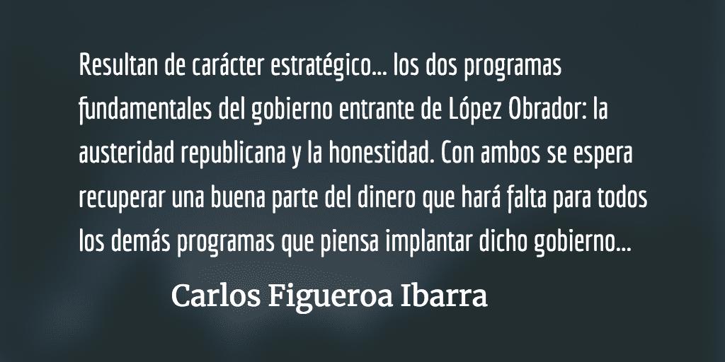AMLO: la lucha contra el gobierno rico y  por el pueblo pobre. Carlos Figueroa Ibarra.