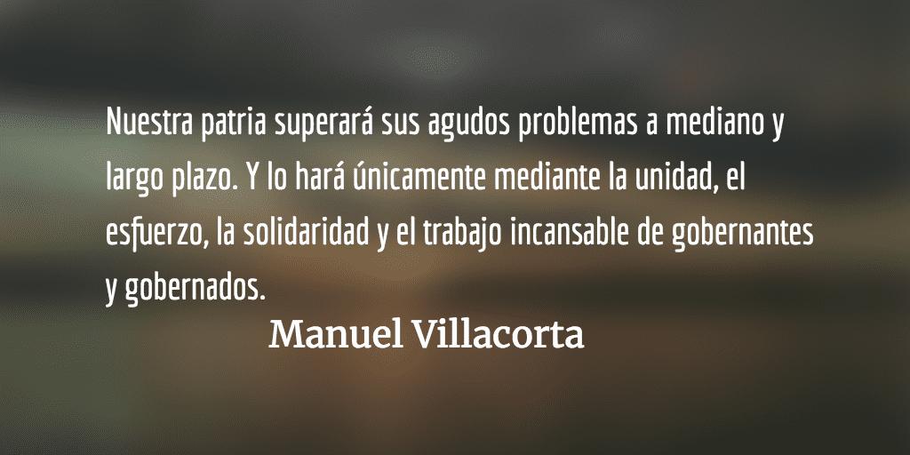 El tiempo está a favor de los pequeños. Manuel Villacorta.