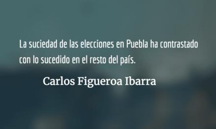 La inercia fraudulenta en Puebla. Carlos Figueroa Ibarra.