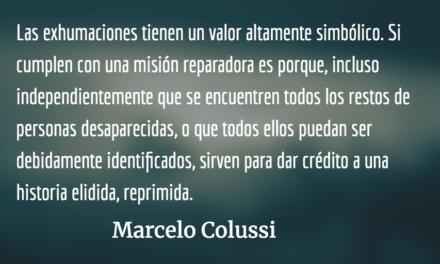 Trabajo psicológico en exhumaciones: Una lectura psicoanalítica en tierras mayas. Marcelo Colussi.