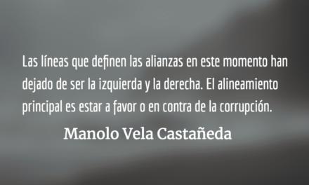 La política, en la antesala del infierno. Manolo Vela Castañeda.