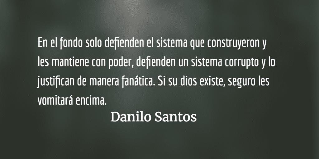 Sincrética inquisición. Danilo Santos.