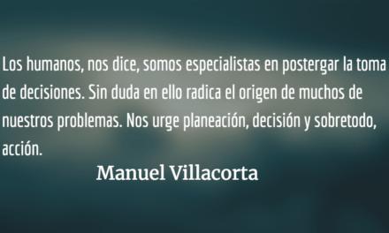 Crisis y desafíos: hacia una economía para todos. Manuel Villacorta.