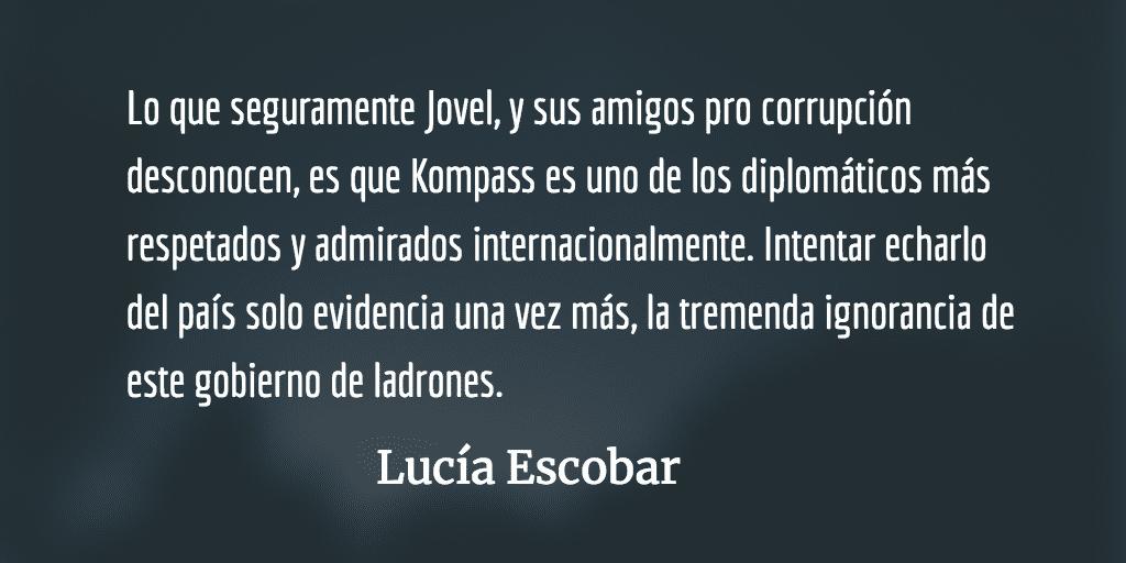 El sueco incómodo. Lucía Escobar.