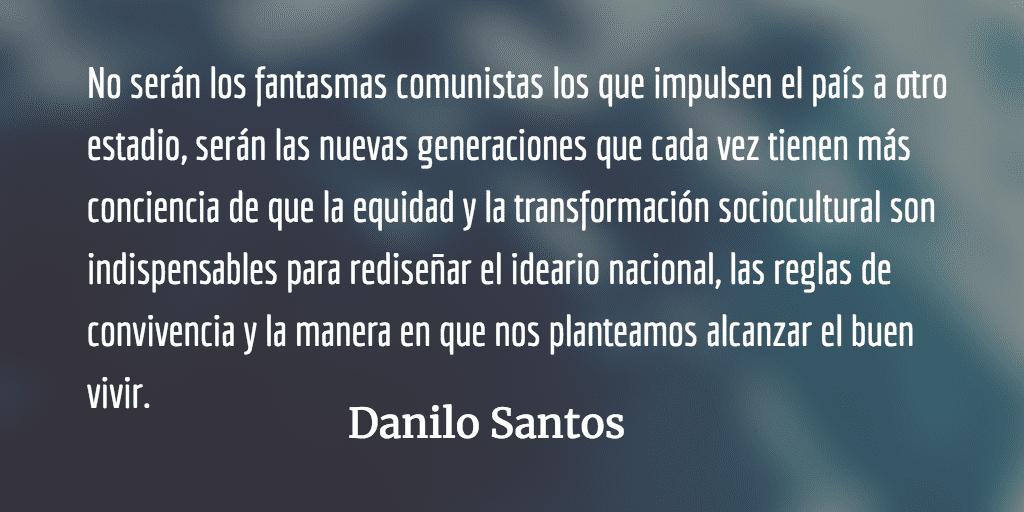 El odio de las gárgolas. Danilo Santos.