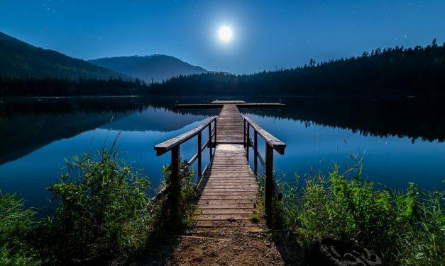Lago Azul. Ilka Oliva Corado.
