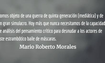 Baile de máscaras. Mario Roberto Morales.