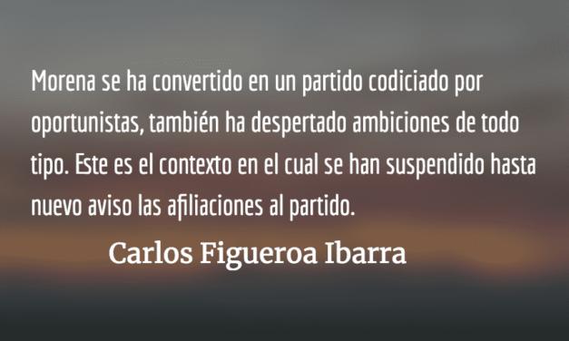 Ganar la presidencia sin perder el partido. Carlos Figueroa Ibarra.
