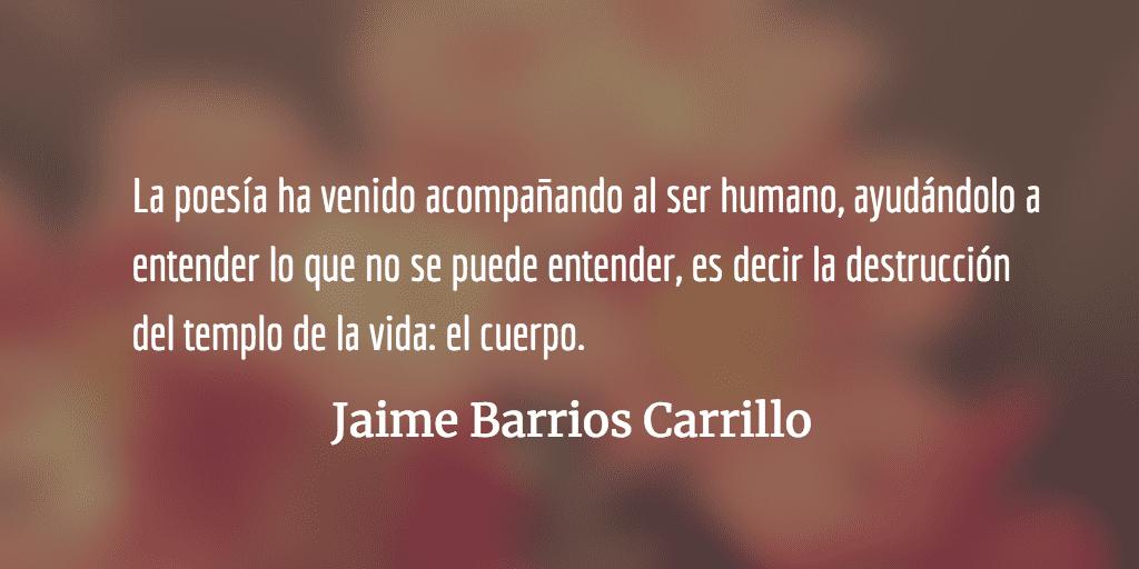 El antepasado más antiguo. Jaime Barrios Carrillo.