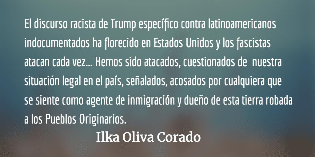 El recurso del terror: darles alas a los racistas. Ilka Oliva Corado.