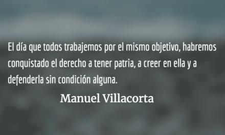 Vamos de nuevo por tí, Guatemala. Manuel Villacorta.