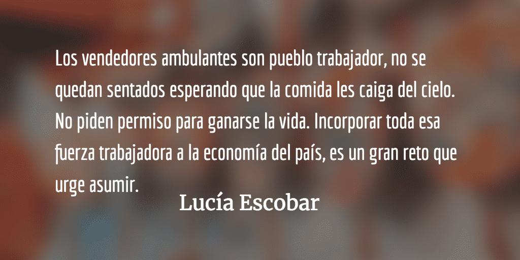 Libre mercado en las calles de La Antigua. Lucía Escobar.