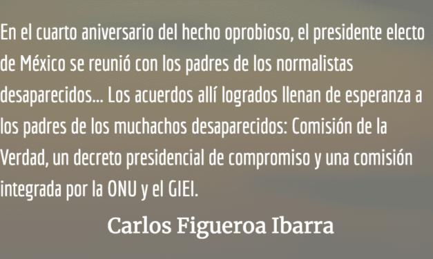 Ayotzinapa, infamia que pervive. Carlos Figueroa Ibarra.