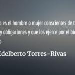 ¿Cuál democracia queremos? Edelberto Torres-Rivas
