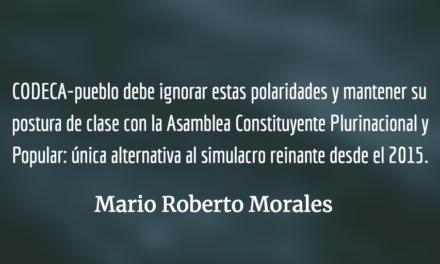 Partir las aguas de la corrupción. Mario Roberto Morales.