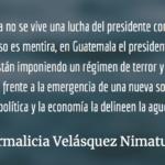 Jimmy Morales en Naciones Unidas. Irmalicia Velásquez Nimatuj.