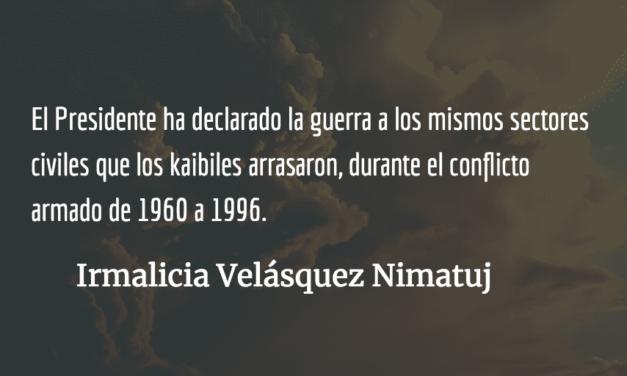 El infierno: el legado de los soldados kaibiles en Guatemala. Irmalicia Velásquez Nimatuj.