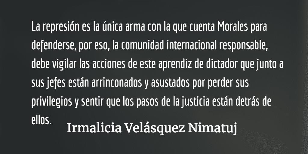 La CICIG tocó el corazón de la elite económica y del ejército. Irmalicia Velásquez Nimatuj.