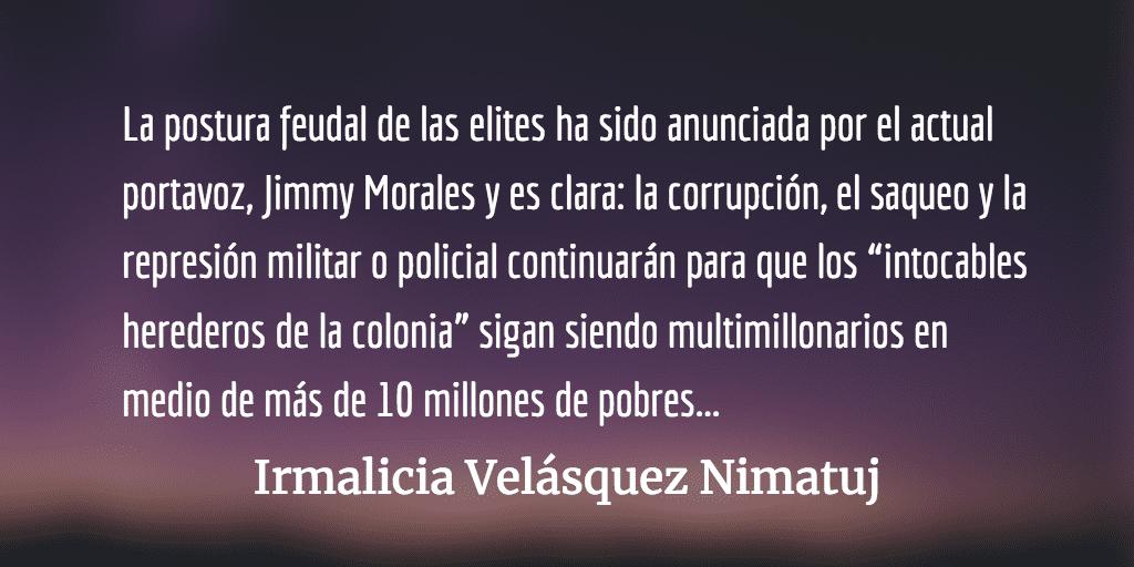 ¿Revertirá Estados Unidos su rol en la historia de Guatemala? Irmalicia Velásquez Nimatuj