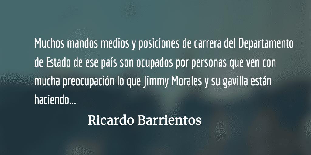 Las Iglesias, Estados Unidos y Jimmy. Ricardo Barrientos.