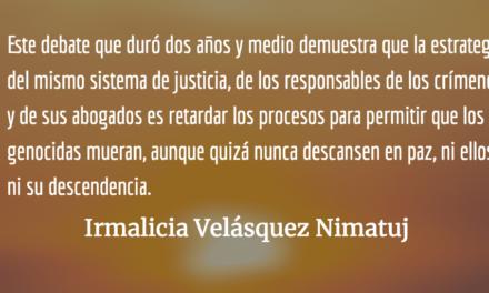 En Guatemala ¡Sí hubo Genocidio! Irmalicia Velásquez Nimatuj