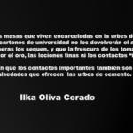 La savia del bagazo. Ilka Oliva Corado.