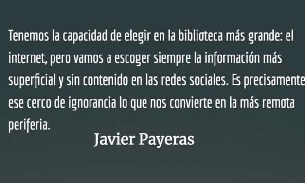 McPeriferia. Javier Payeras.