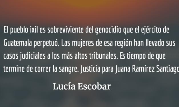 Mataron a Juana otra vez. Lucía Escobar.