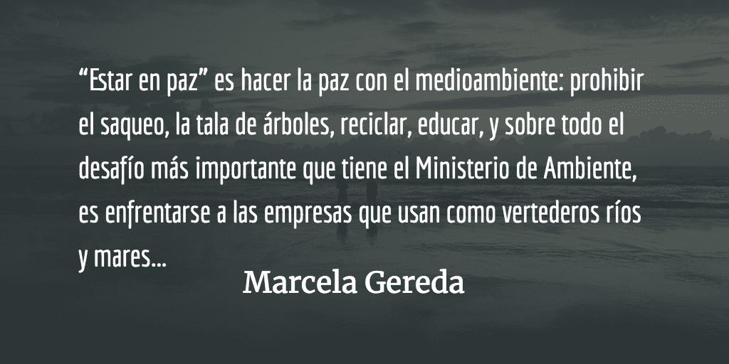 Modelo alternativo, el buen vivir II. Marcela Gereda.