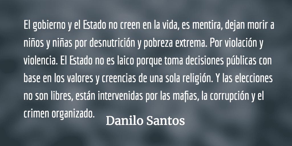 Ante los gorilas: Rebeldía. Danilo Santos.
