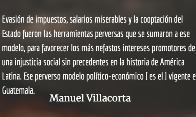 La unidad política y social, compromiso nacional. Manuel Villacorta.